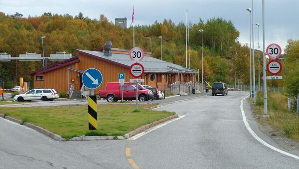 Przejście graniczne Storskog w Norwegii na granicy z Rosją - Sputnik Polska