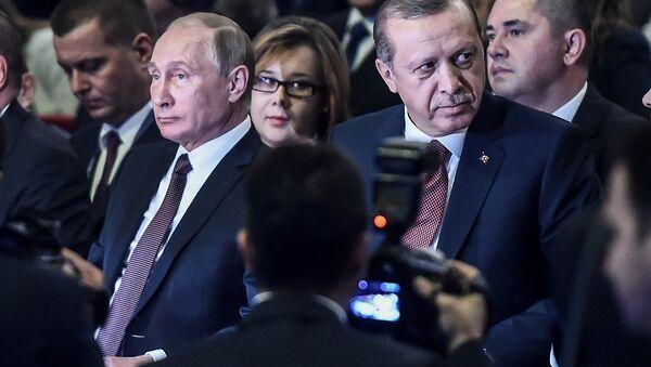 Władimir Putin w Stambule - Sputnik Polska