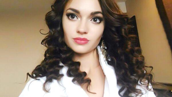 """Zwyciężczyni międzynarodowego konkursu piękności """"Face of Beauty International - 2016"""" Alona Rajewa - Sputnik Polska"""