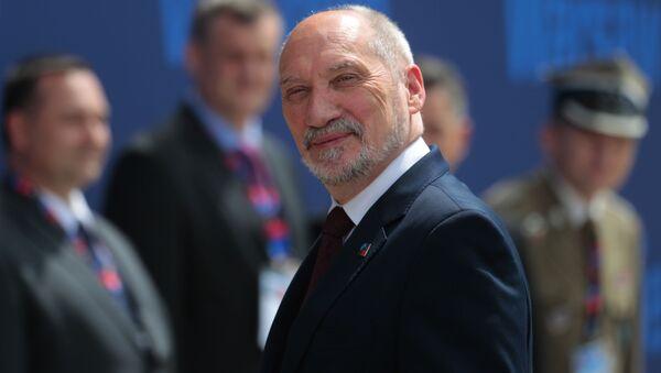 Minister obrony Poslki Antoni Macierewicz - Sputnik Polska
