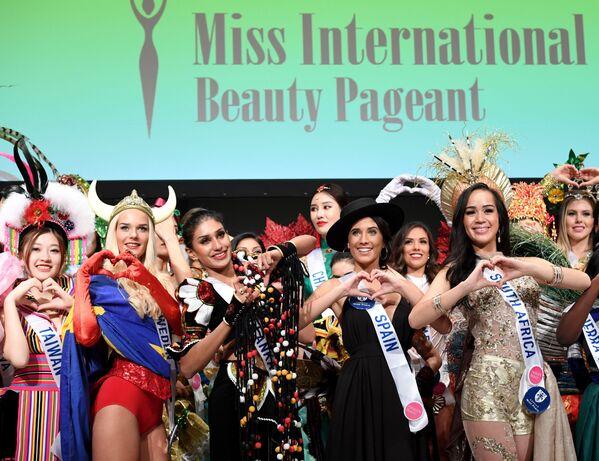 Uczestniczki konkursu Miss International Beauty Pageant 2016 w Tokio - Sputnik Polska