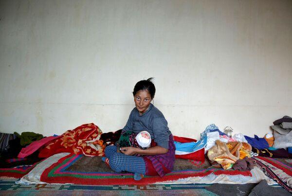 Kobieta z dzieckiem, Himalaje - Sputnik Polska