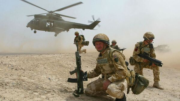 Amerykańscy desantnicy w Iraku - Sputnik Polska