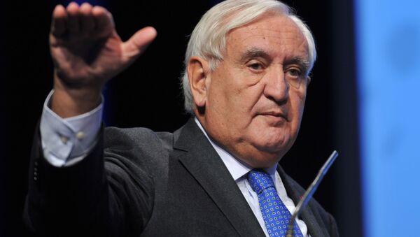 Były premier Francji Jean-Pierre Raffarin - Sputnik Polska