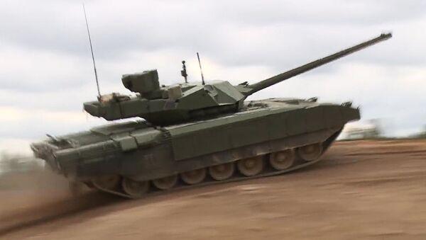 Pokaz czołgu T-14 Armata - Sputnik Polska