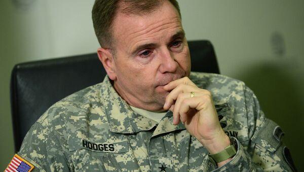 Generał Ben Hodges, dowódca wojsk amerykańskich w Europie - Sputnik Polska