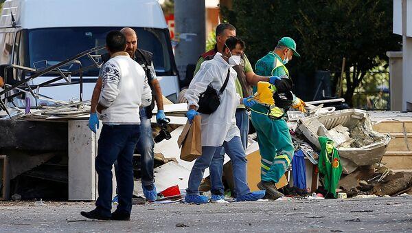 Gaziantep: Kolejny zamachowiec wysadził się w powietrze - Sputnik Polska