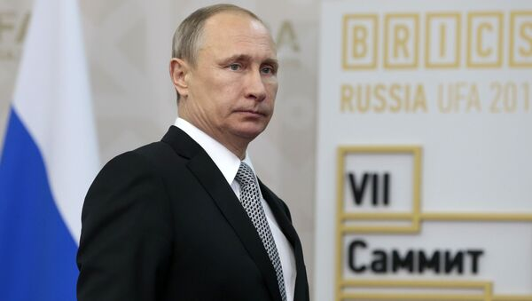 Władimir Putin. BRICS - Sputnik Polska