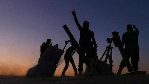 Wolna Armia Syrii przy wsparciu lotnictwa tureckiego wyparła w niedzielę z miasteczka Dabik na północy Syrii dżihadystów z Państwa Islamskiego - Sputnik Polska