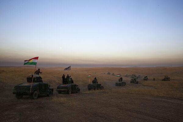Liczba bojowników w irackim mieście oceniana jest na ok. 3-4,5 tys. osób. - Sputnik Polska