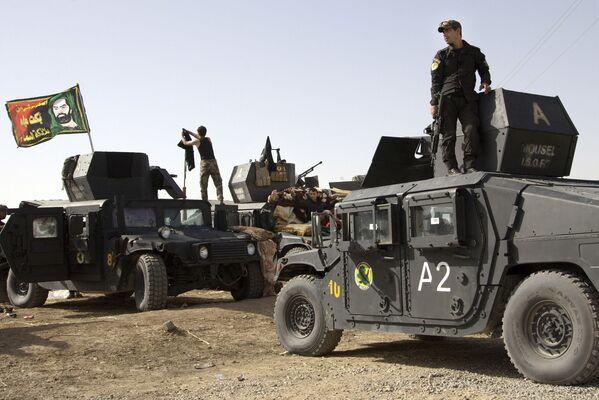 W mieście mogą znajdować się terroryści wyparci wcześniej z irackich miast Ramadi, Tikrit i Bajdżi. - Sputnik Polska