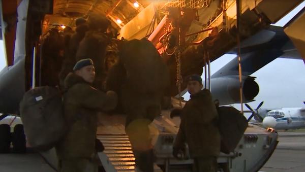 Afrykańskie przygody rosyjskich desantowców - Sputnik Polska