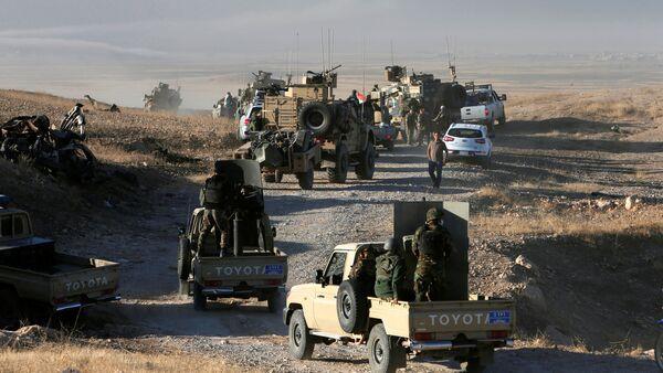 Odbijanie Mosulu, Irak - Sputnik Polska