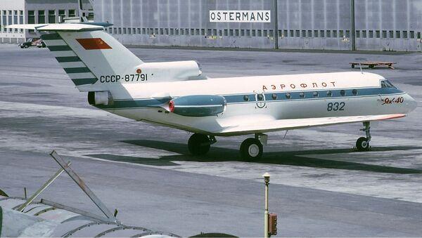 Radziecki samolot Jak-40 - Sputnik Polska