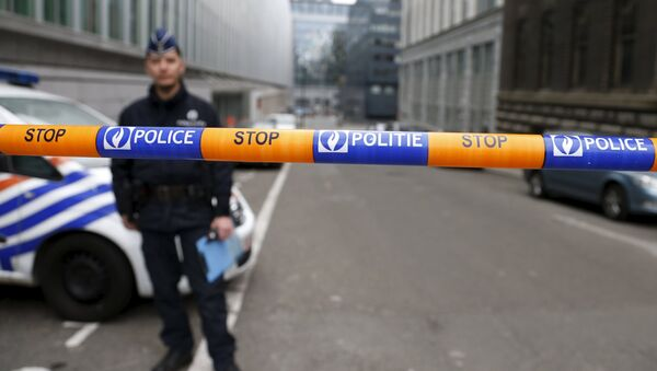 Belgijska policja - Sputnik Polska