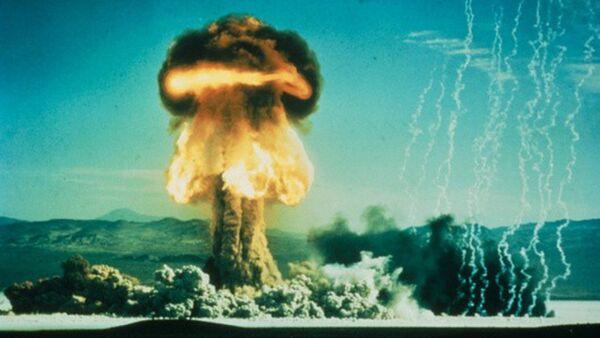 Wybuch amerykańskiej bomby atomowej, 17 styczenia 1962 - Sputnik Polska