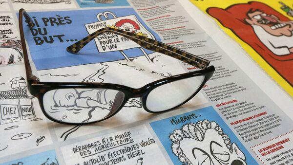 Francuska gazeta Charlie Hebdo - Sputnik Polska