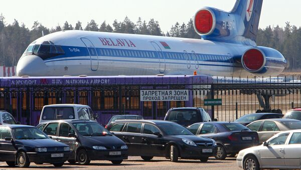 Ukraina zawróciła białoruski samolot pasażerki - Sputnik Polska