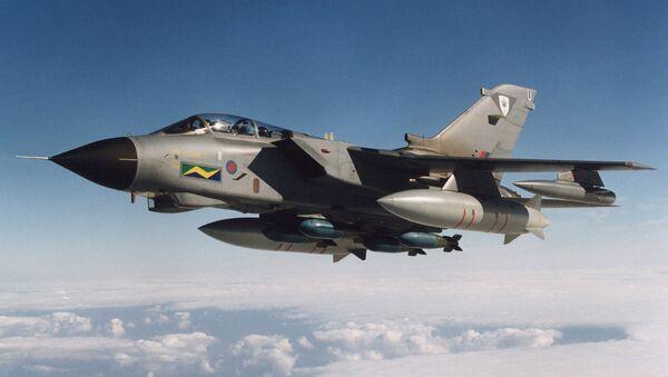 Myśliwiec Tornado lotnictwa brytyjskiego - Sputnik Polska
