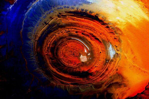 Zdjęcie Ziemi wykonane z Międzynarodowej Stacji Kosmicznej. - Sputnik Polska