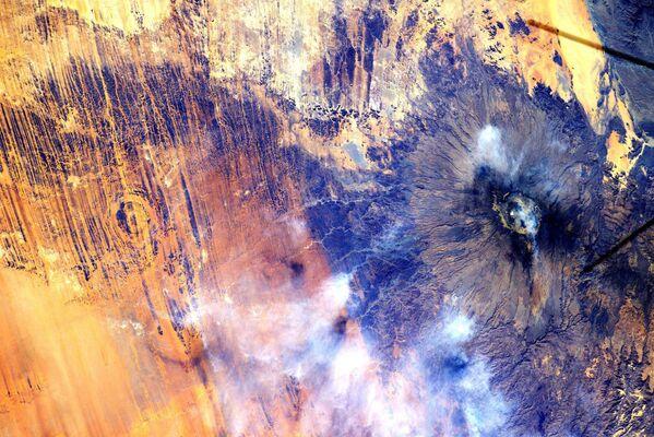 Widok na Afrykę z Międzynarodowej Stacji Kosmicznej. - Sputnik Polska
