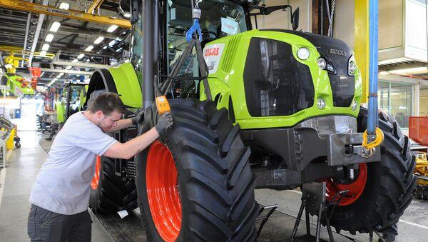 Jeden z czołowych producentów sprzętu rolniczego na świecie — niemiecka spółka Claas - Sputnik Polska