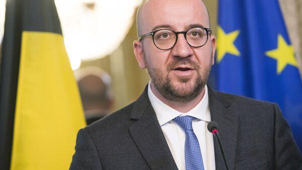 Premier Belgii Charles Michel - Sputnik Polska