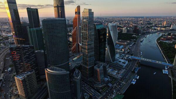 Międzynarodowe Centrum Biznesowe Moskwa City - Sputnik Polska