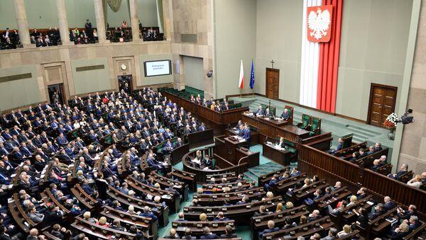 Sejm Rzeczypospolitej Polskiej - Sputnik Polska