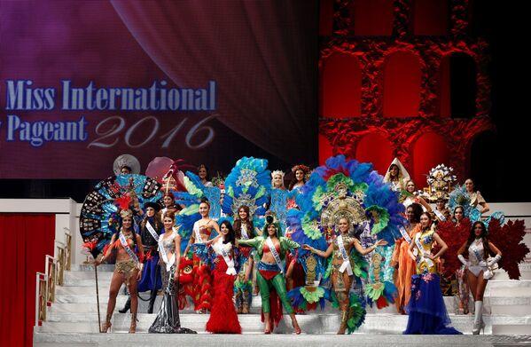 Uczestniczki corocznego konkursu Miss International Beauty Pageant - 2016 w Tokio - Sputnik Polska