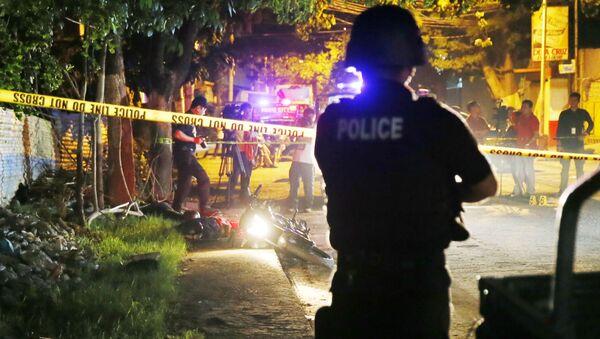 Burmistrz jednego z filipińskich miast Datu Saudi Ampatuan, Samsudin Dimaukom, został zastrzelony podczas operacji policyjnej w ramach walki z handlem narkotykami. - Sputnik Polska