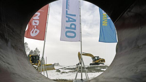 Gazociąg OPAL: KE przychyliła się do prośby Gazpromu - Sputnik Polska