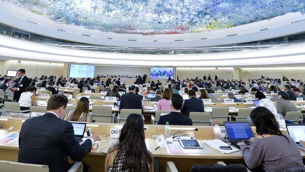 Posiedzenie Rady Praw Człowieka ONZ - Sputnik Polska