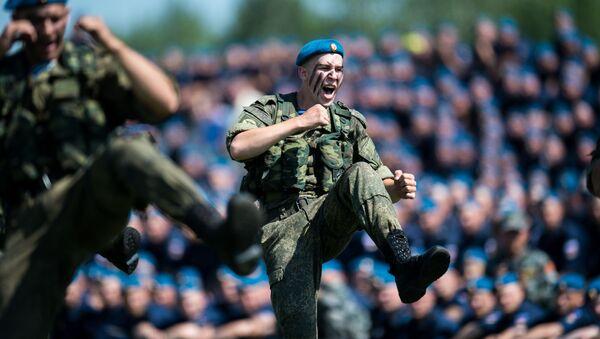 Obchody wojsk powietrznych w Rosji - Sputnik Polska