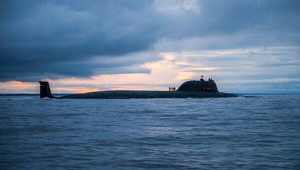 Atomowy okręt podwodny K-560 Siewierodwińsk - Sputnik Polska