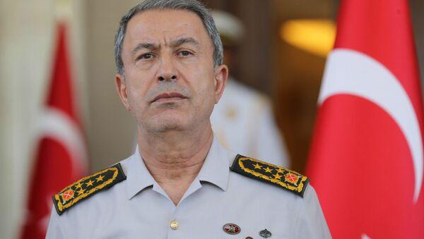 Szef Sztabu Generalnego Sił Zbrojnych Turcji Hulusi Akar - Sputnik Polska