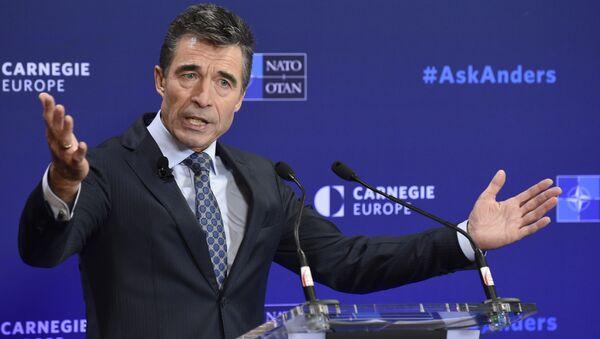 Anders Fogh Rasmussen. Były sekretarz NATO - Sputnik Polska