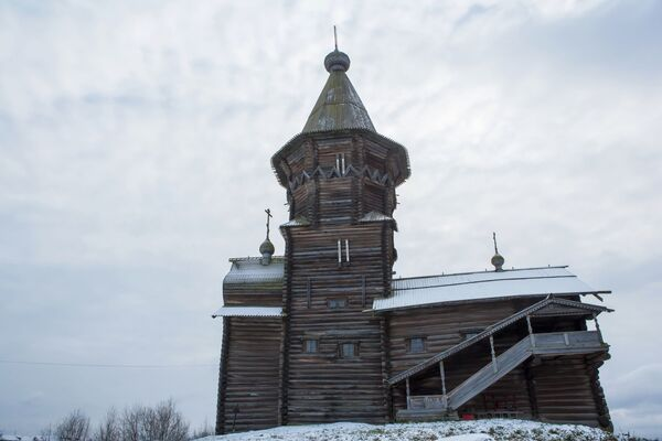 Pierwsze wspomnienie o cerkwi Zaśnięcia Matki Bożej w tym miejscu pojawia się w 1563 roku. - Sputnik Polska