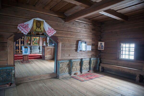 Cerkiew nie była przebudowywana, została jednak trzykrotnie odrestaurowana. - Sputnik Polska