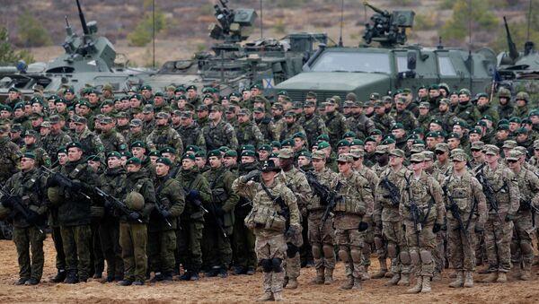 Ćwiczenia NATO na Litwie - Sputnik Polska