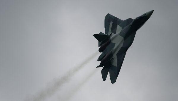 Suchoj T-50 PAK FA - Sputnik Polska