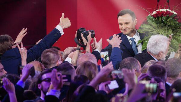 Andrzej Duda, prezydent Polski - Sputnik Polska