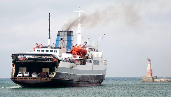 Ministerstwo Transportu Rosji zamierza znacznie zwiększyć wielkości przewozów ładunkowych do Europy za pośrednictwem promów - Sputnik Polska