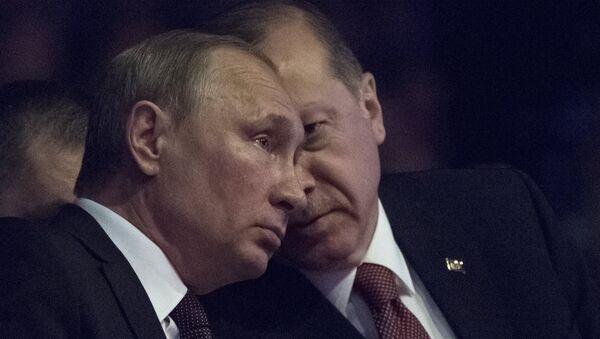 Władimir Putin i Recep Tayyip Erdogan w Istambule, 10 października 2016 - Sputnik Polska