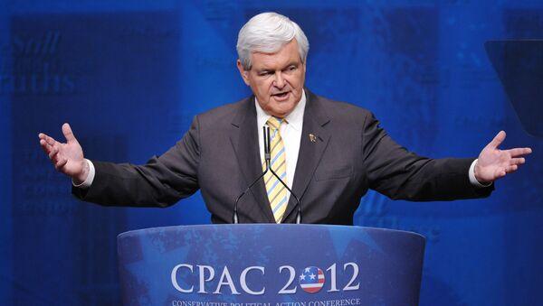 Amerykański polityk Newt Gingrich - Sputnik Polska