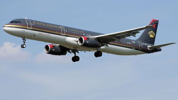 Airbus A321-200 Jordańskich Linii Lotniczych - Sputnik Polska