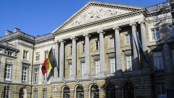 Siedziba Parlamentu Federalnego Belgii - Sputnik Polska