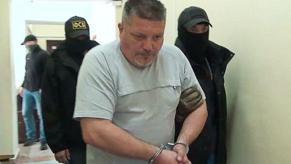 Zatrzymany ukraiński sabotażysta w Leninskim Sądzię Rejonowym Sewastopola - Sputnik Polska