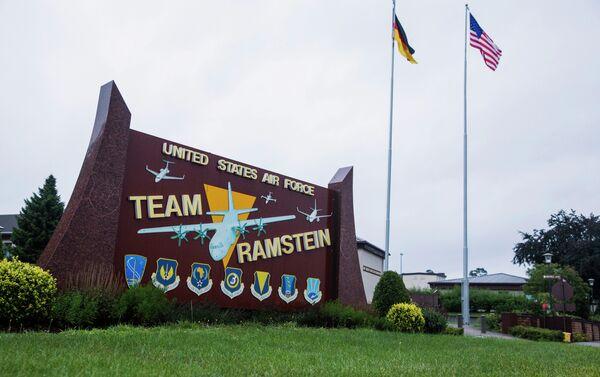 US-Militärbasis Ramstein - Sputnik Polska