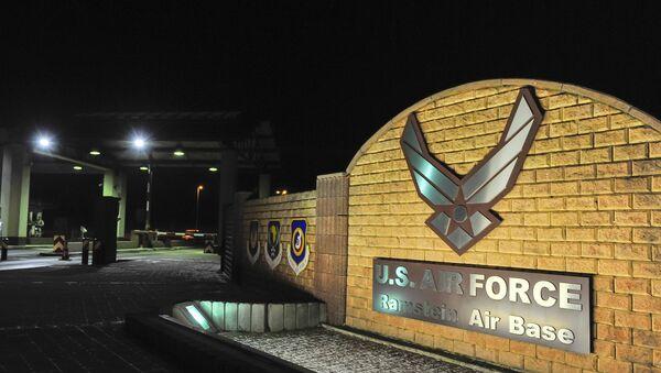 Amerykańska baza Ramstein Air Base w Niemczech - Sputnik Polska